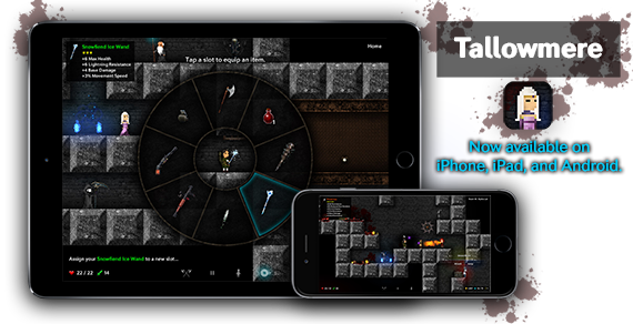 Tallowmere - Coming to iPhone, iPad, and Android on 11 May 2015.